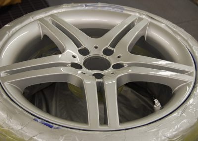Alloy Road Wheel Refurbishment