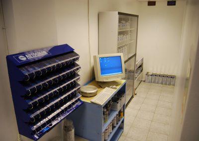 The TFA Paint Mixing Room