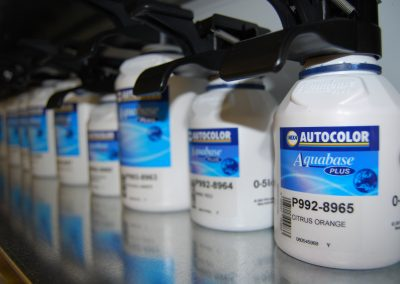 Car paint and tinters