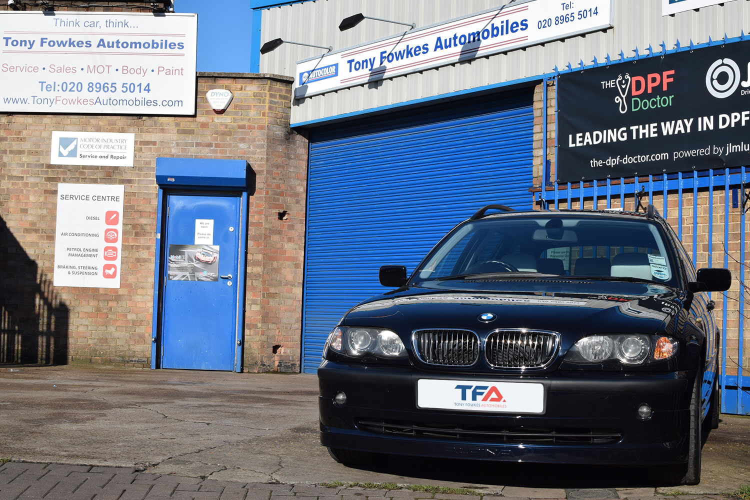 BMW Servicing Park Royal North West London
