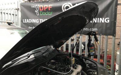 VW Touareg DPF Clean