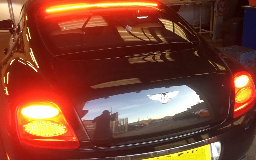 Bentley Continental GT Centre Brake Light Not Working
